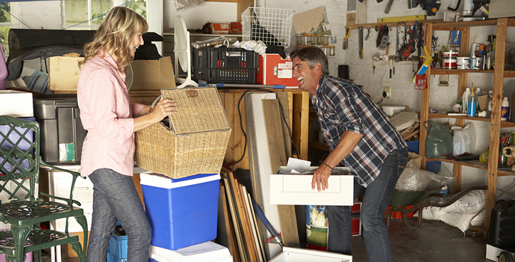 Spring Weekend Home Organizing Project: The Garage
