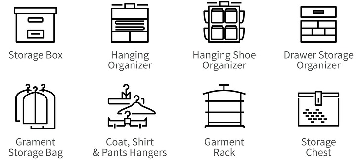 Spring Cleaning and Organizing Solutions for your Closets!