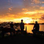 Sunset over Playa Conchal, Guanacaste, Costa Rica