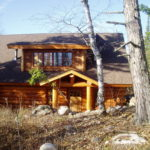 Cedar Log Lake home