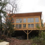 Island cabin lake side