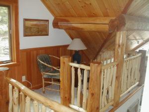 Little nook sitting area in loft