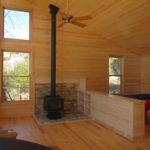 pine cabinet room devider woodstove (1)