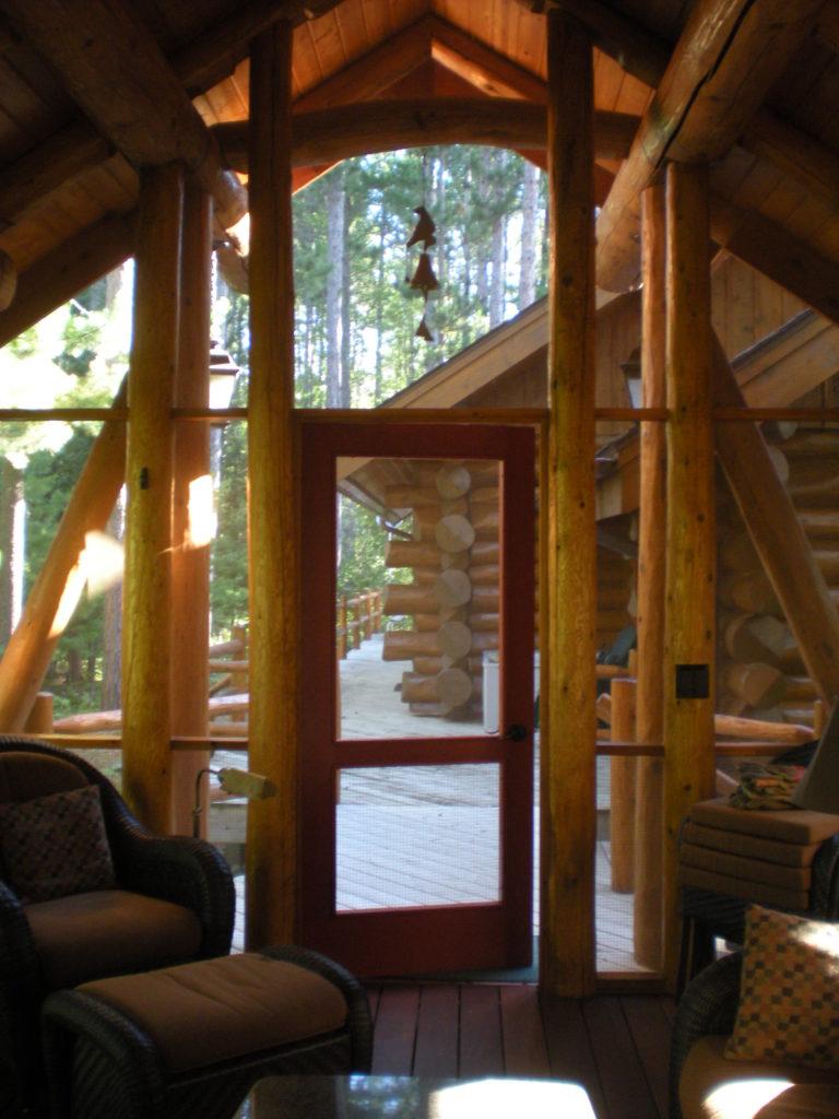 Red cedar door