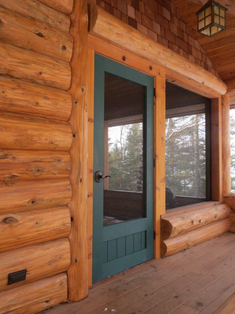 Green screen door