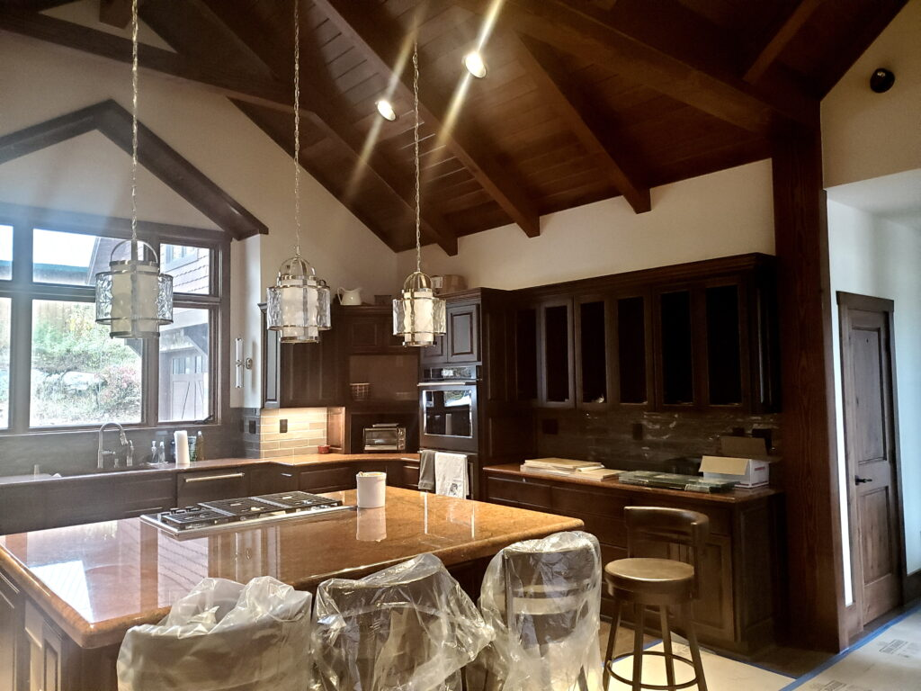 Kitchen area, custom home, Huisman Concepts