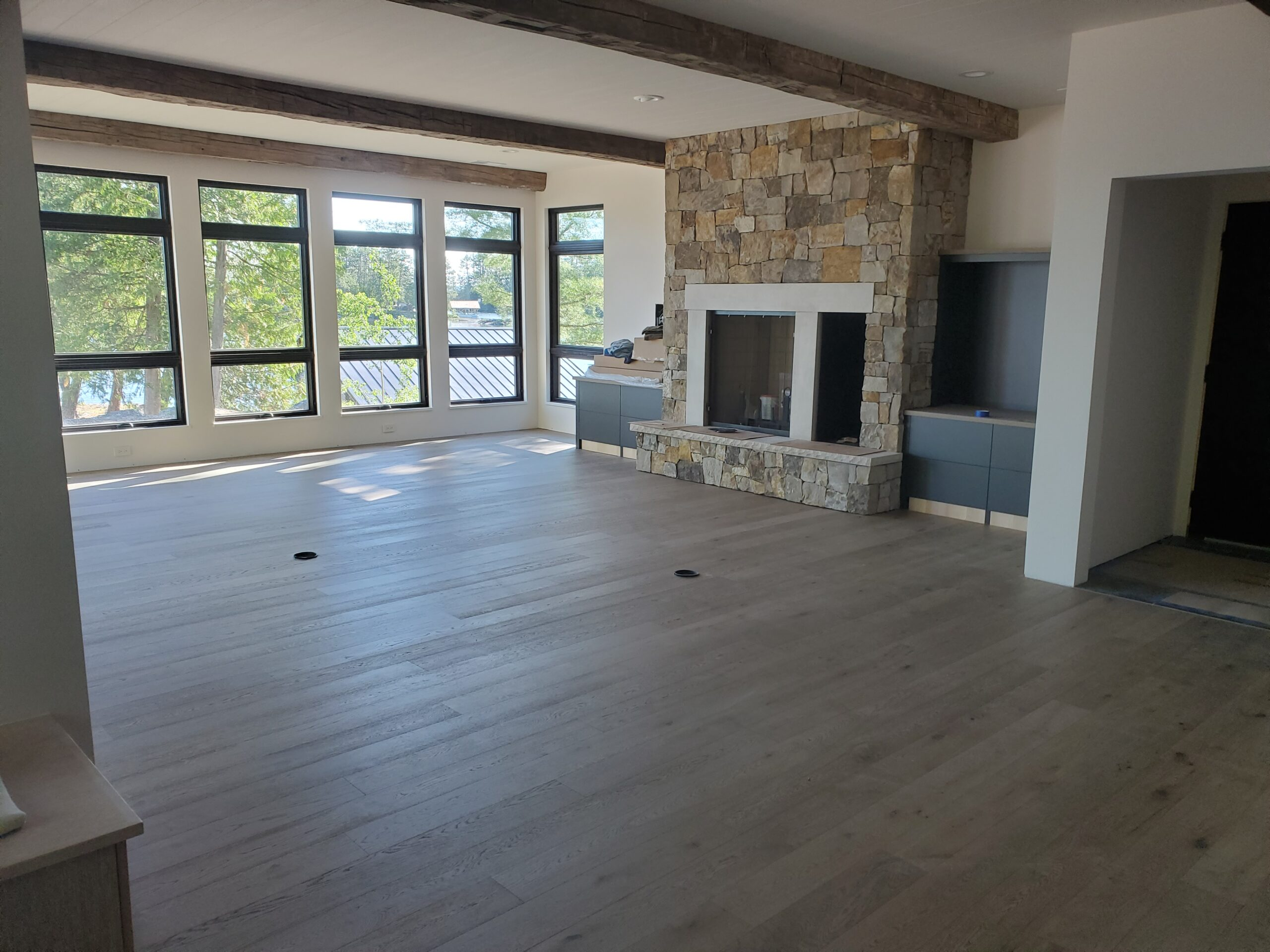 Great room flooring done