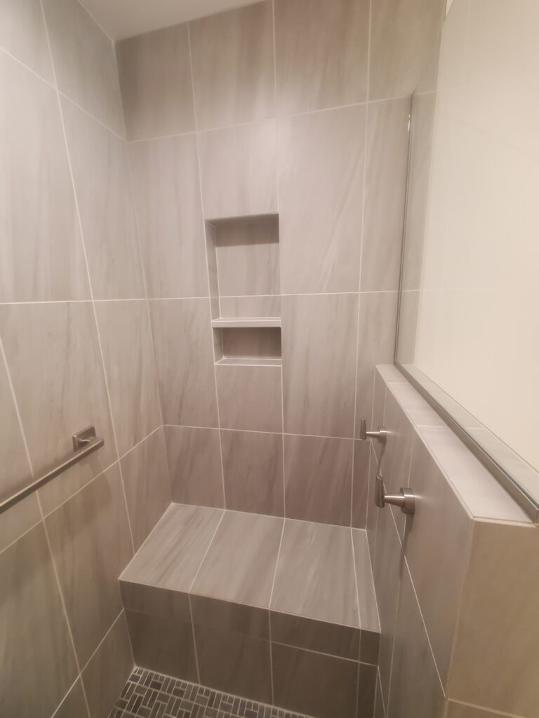 second master bath shower