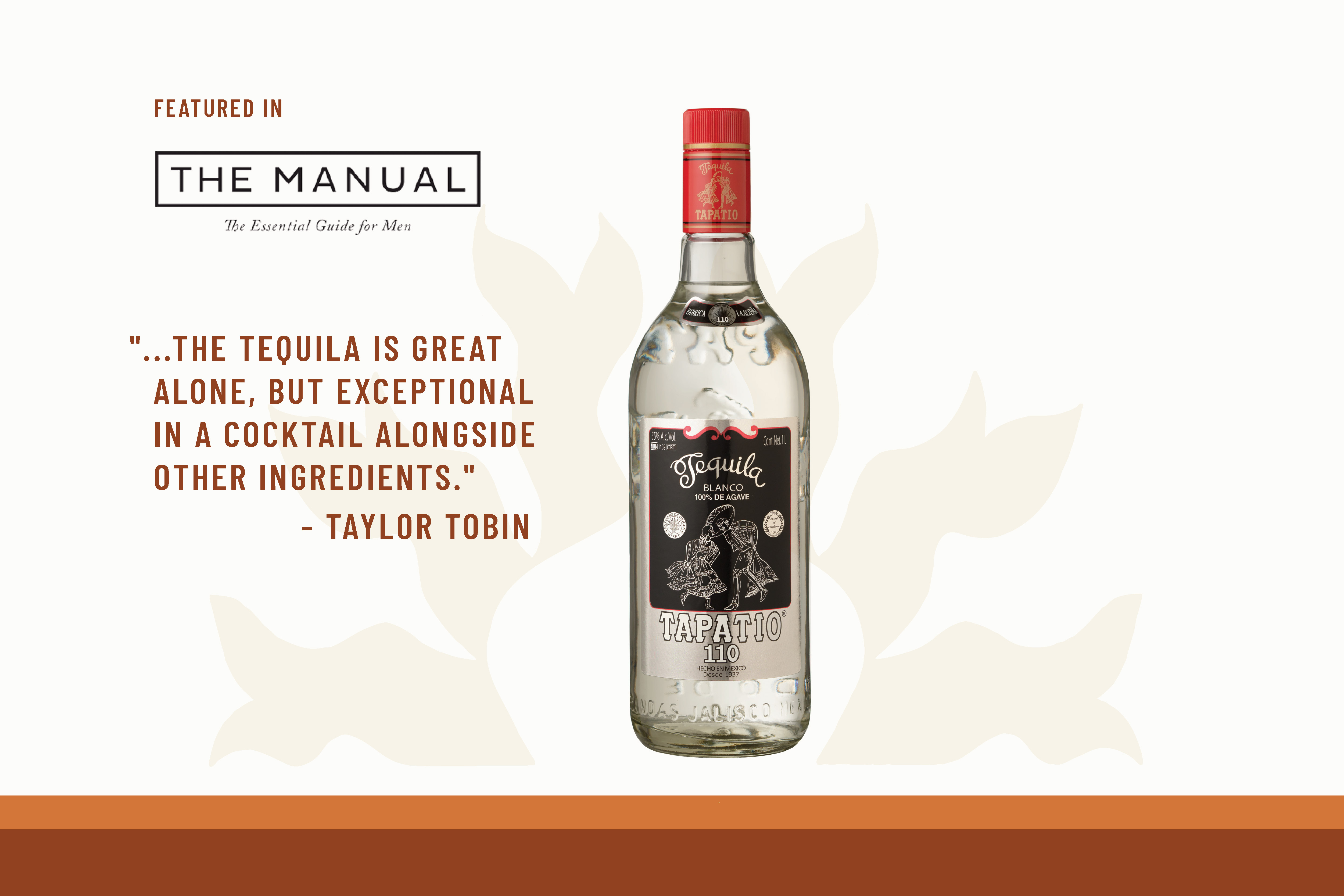 Tequila Tapatio Blanco 110 Article