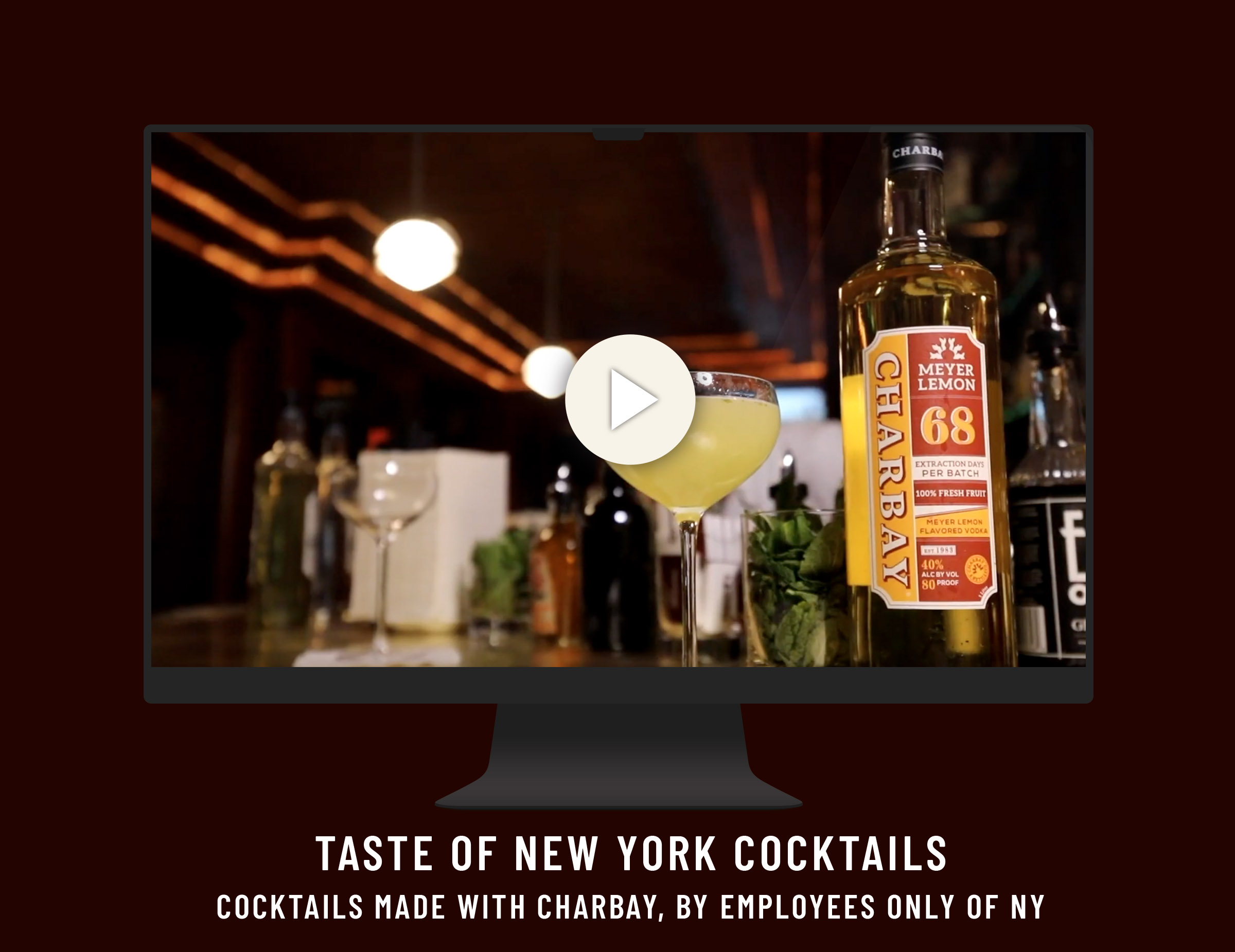 Taste of NY Cocktails Video