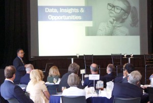 Leaders' Forum participants learning about the data, insights, and opportunites facing Monterey County.