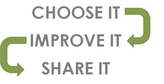 Engage: Choose It. Improve It. Share It.