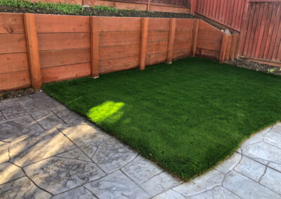 Bluegrass Supreme Turf installed in Milpitas, CA