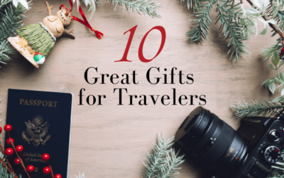 10 Great Gift Ideas for Travelers + Our Favorite 2020 Black Friday Sales!