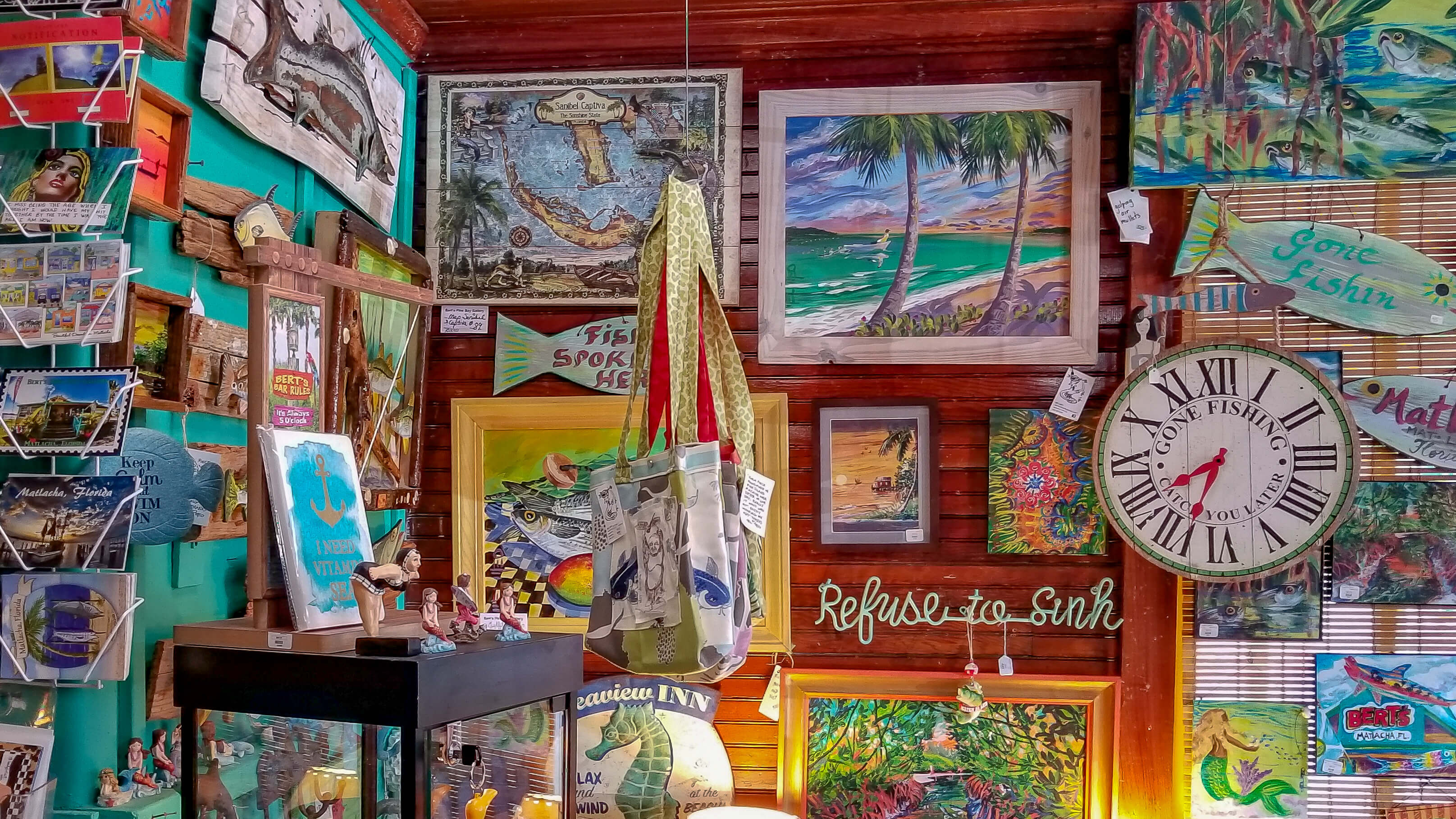 Gifts, Paintings, and Florida Art Bert's Gallery & Gifts Matlacha