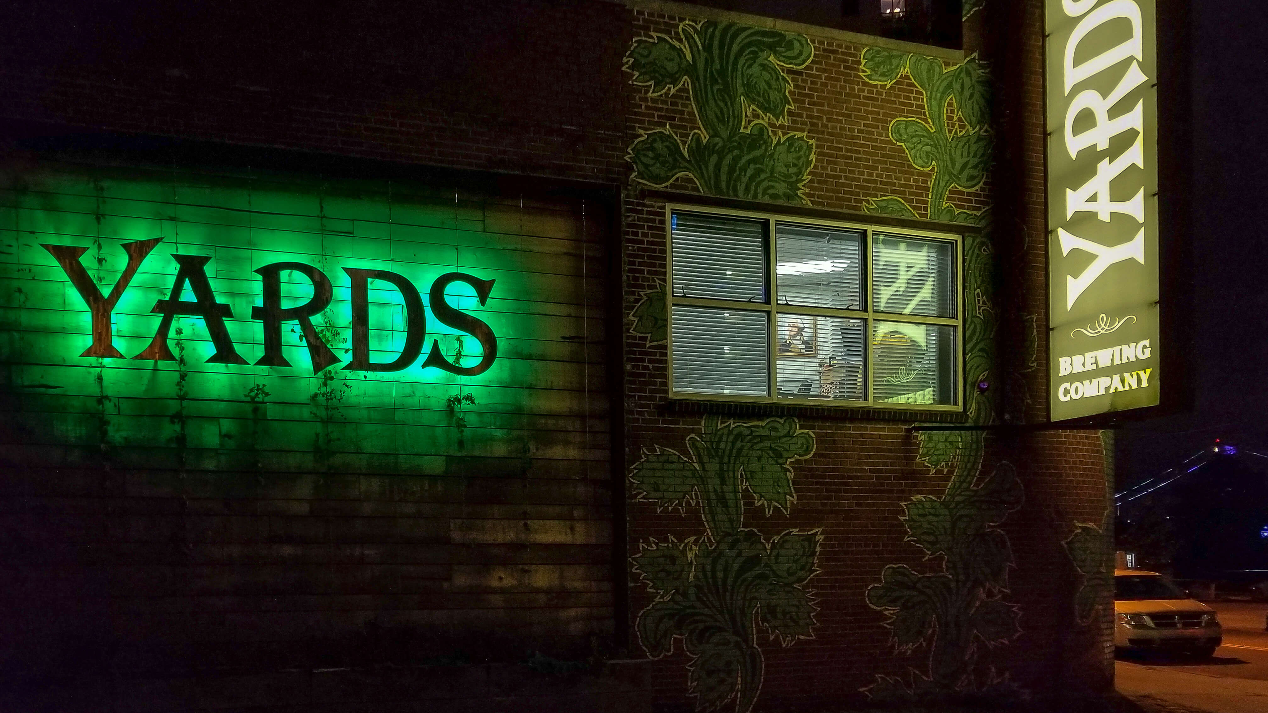 yards brewing
