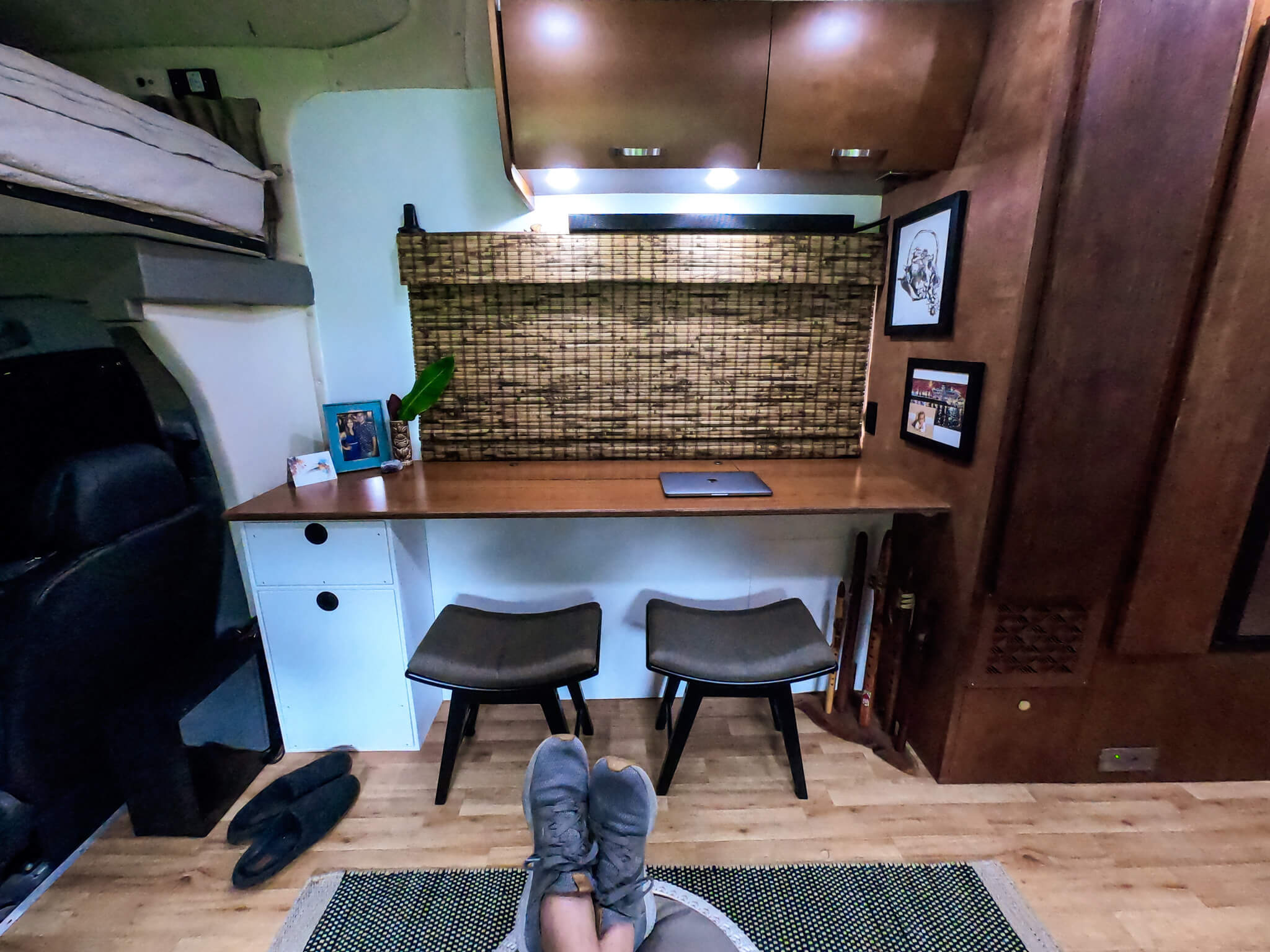 Custom RV Desk RV Renovation