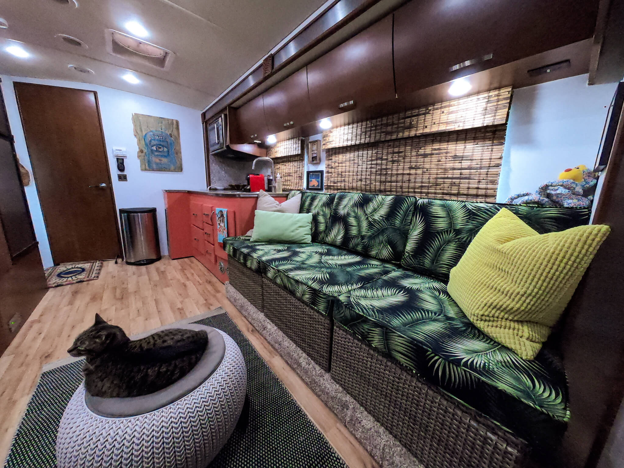 Interior of Remodeled Class C RV