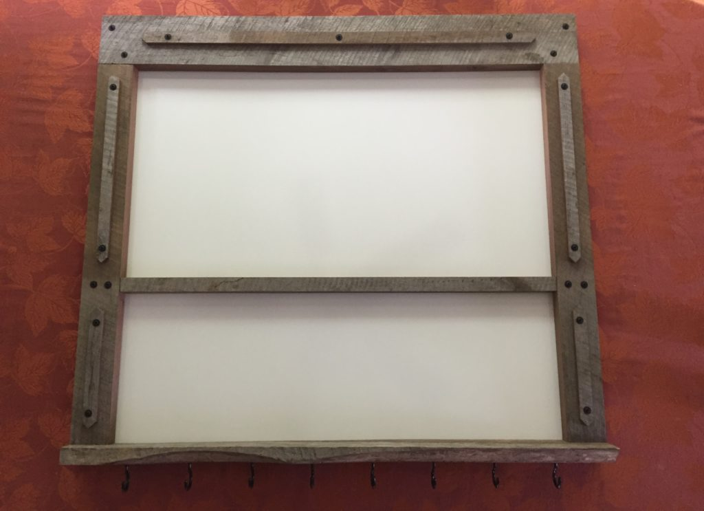 Revival Designs Commissioned Black Walnut Whiteboard