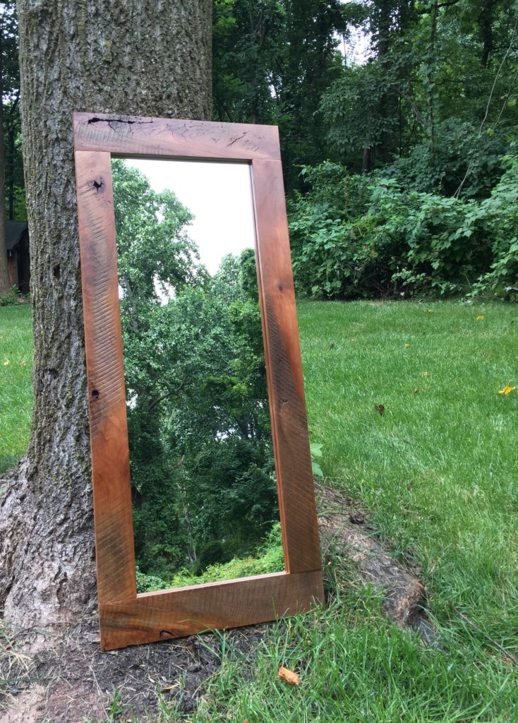 Revival Designs Black Walnut Mirror