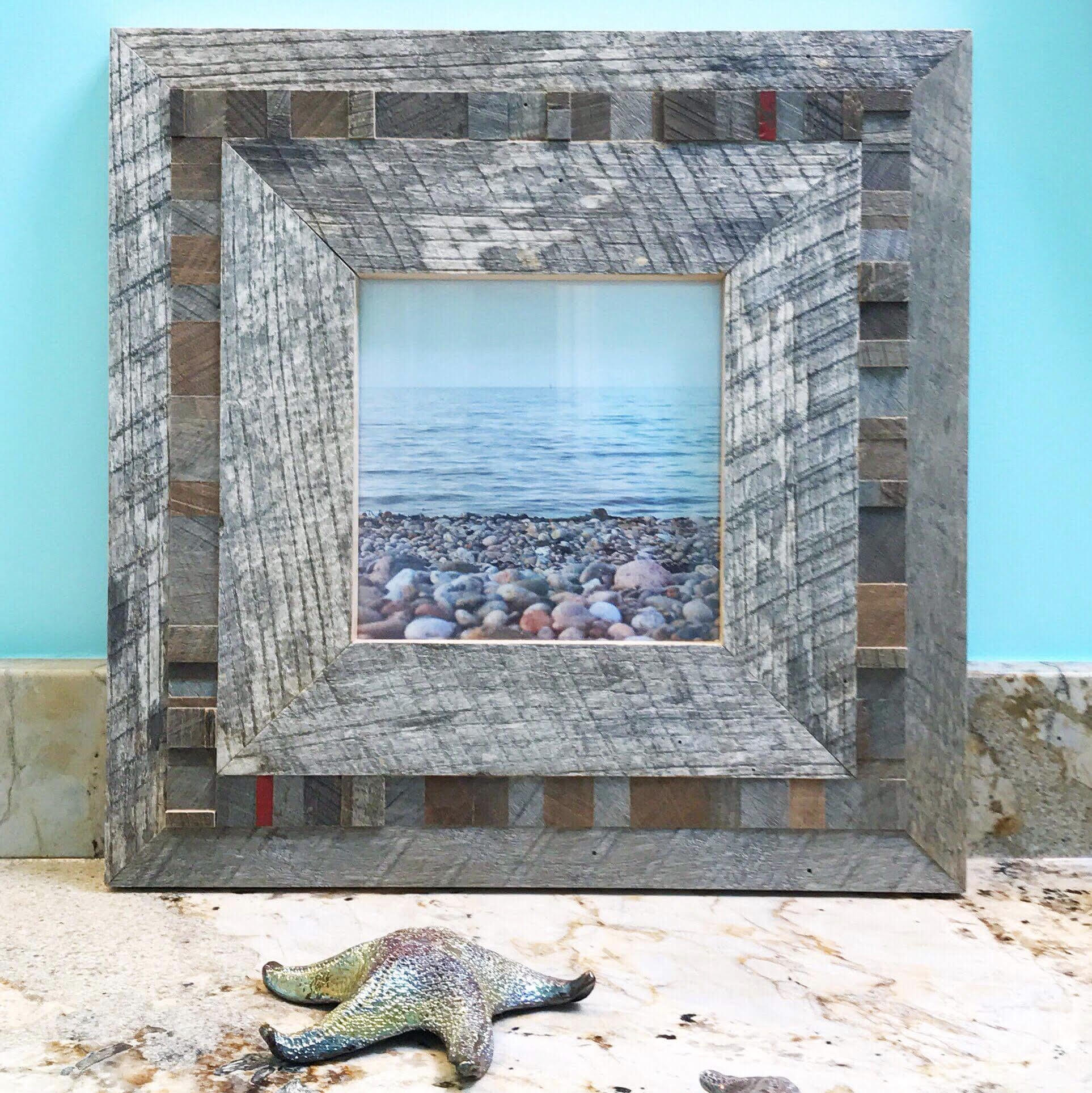 Custom framed photography