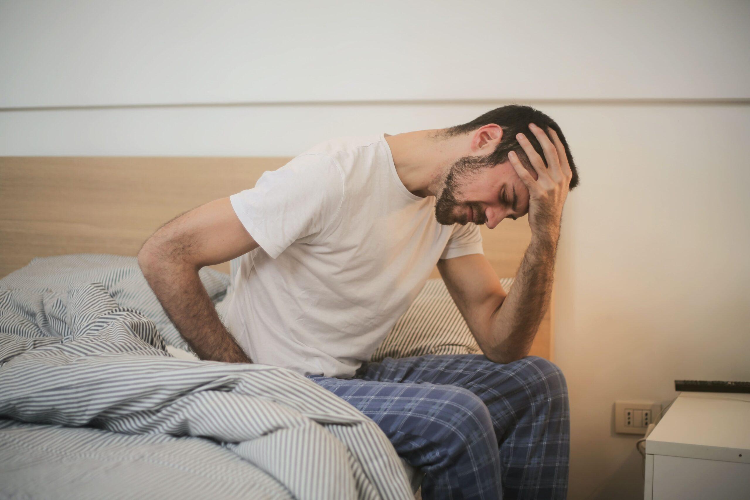 Man who cannot sleep