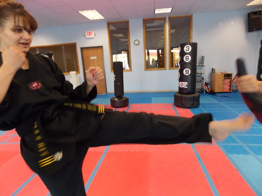Angel's Karate Black Belt Test 1st and 2nd Dan 7/28/2012