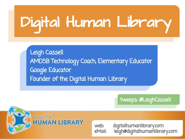 Digital Human Library - An online resource connecting experts to classrooms