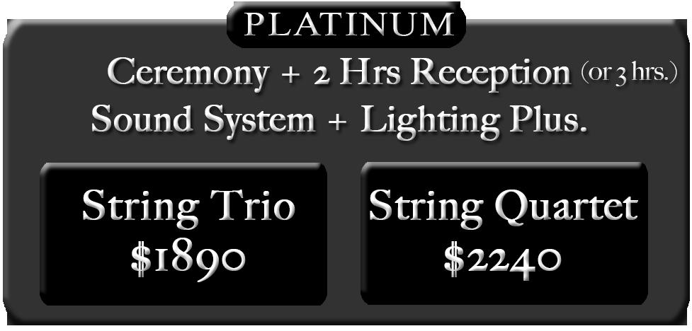 Platinum pricing