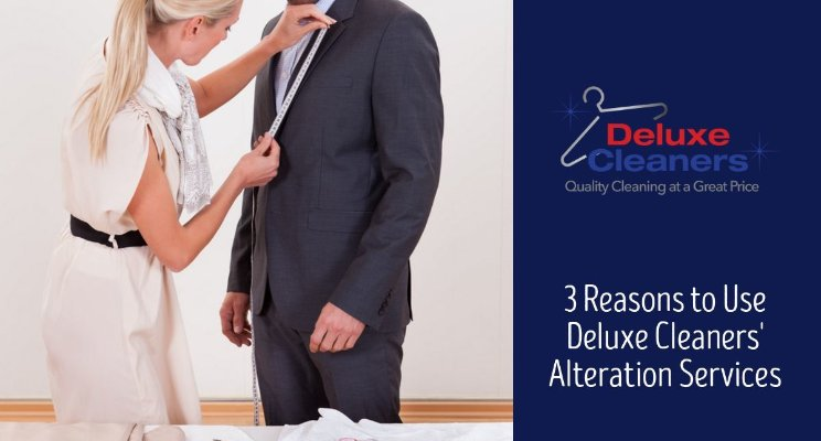 3 Reasons to Use Deluxe Cleaners' Alteration Services