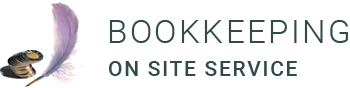 Bookkeeping on Site Services Logo