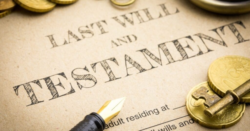 Last Will and Testament - contingent and primary beneficiary