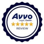 avvo lawyer directory review badge