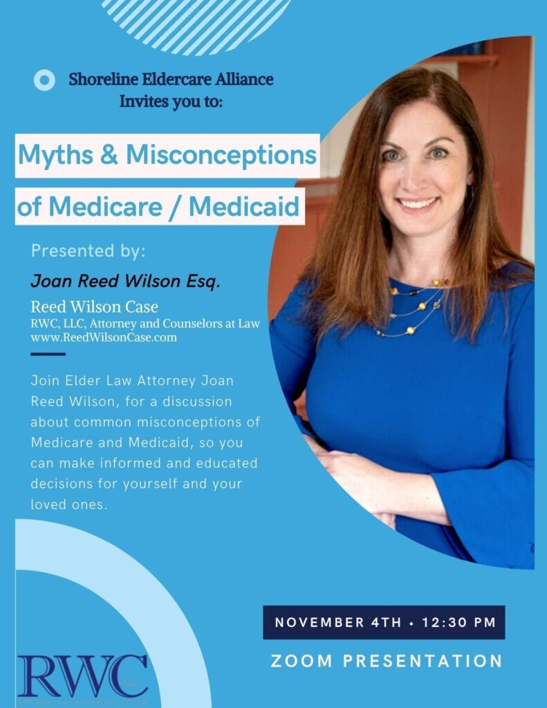 Common Myths and Misconceptions about Medicare & Medicaid by Joan Wilson @ ZOOM