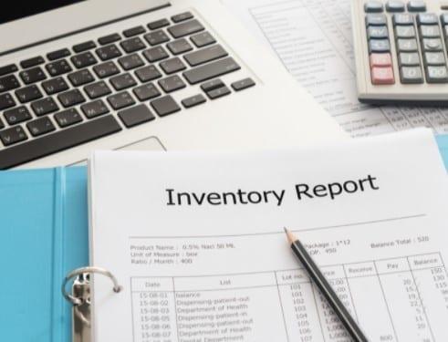 Probate Inventory report