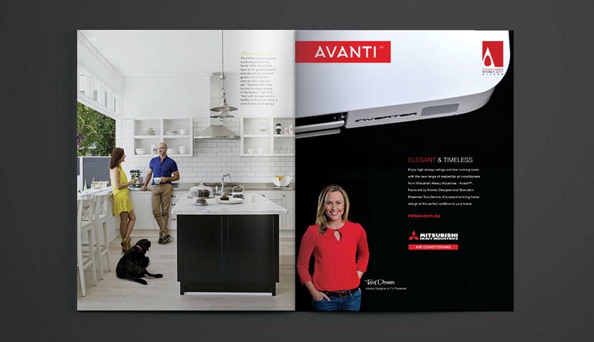 Avanti Magazine mock up