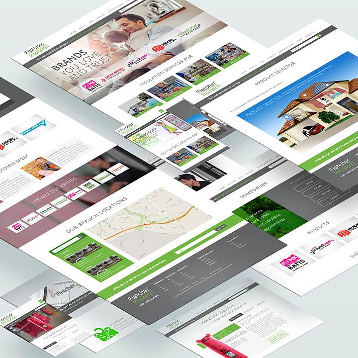 Fletcher Insulation Website