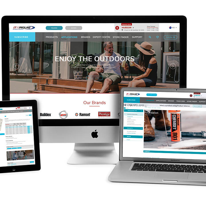 ITW Proline Website