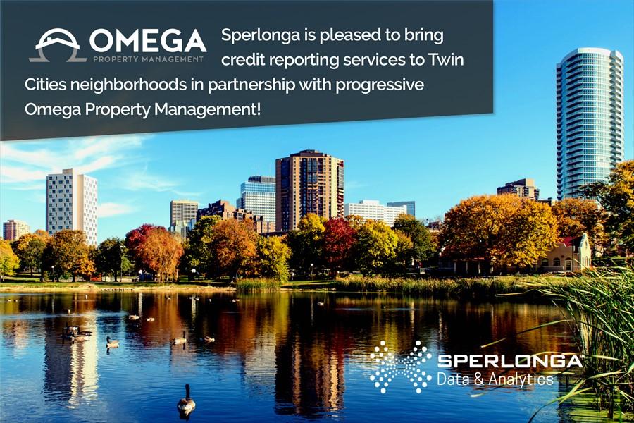 omega property management partners with sperlonga data