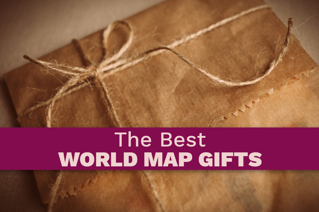 The Best World Map Gifts by BestWorldMapWallArt.com