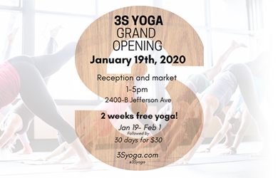 S3 Yoga Grand Opening
