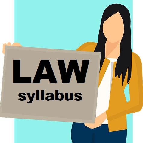 law syllabus