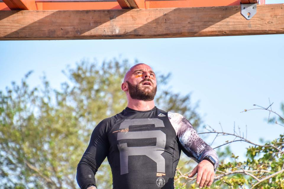 Physical Trainer, Joey Salpeietro excercising