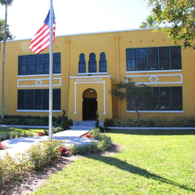 Old Davie School House