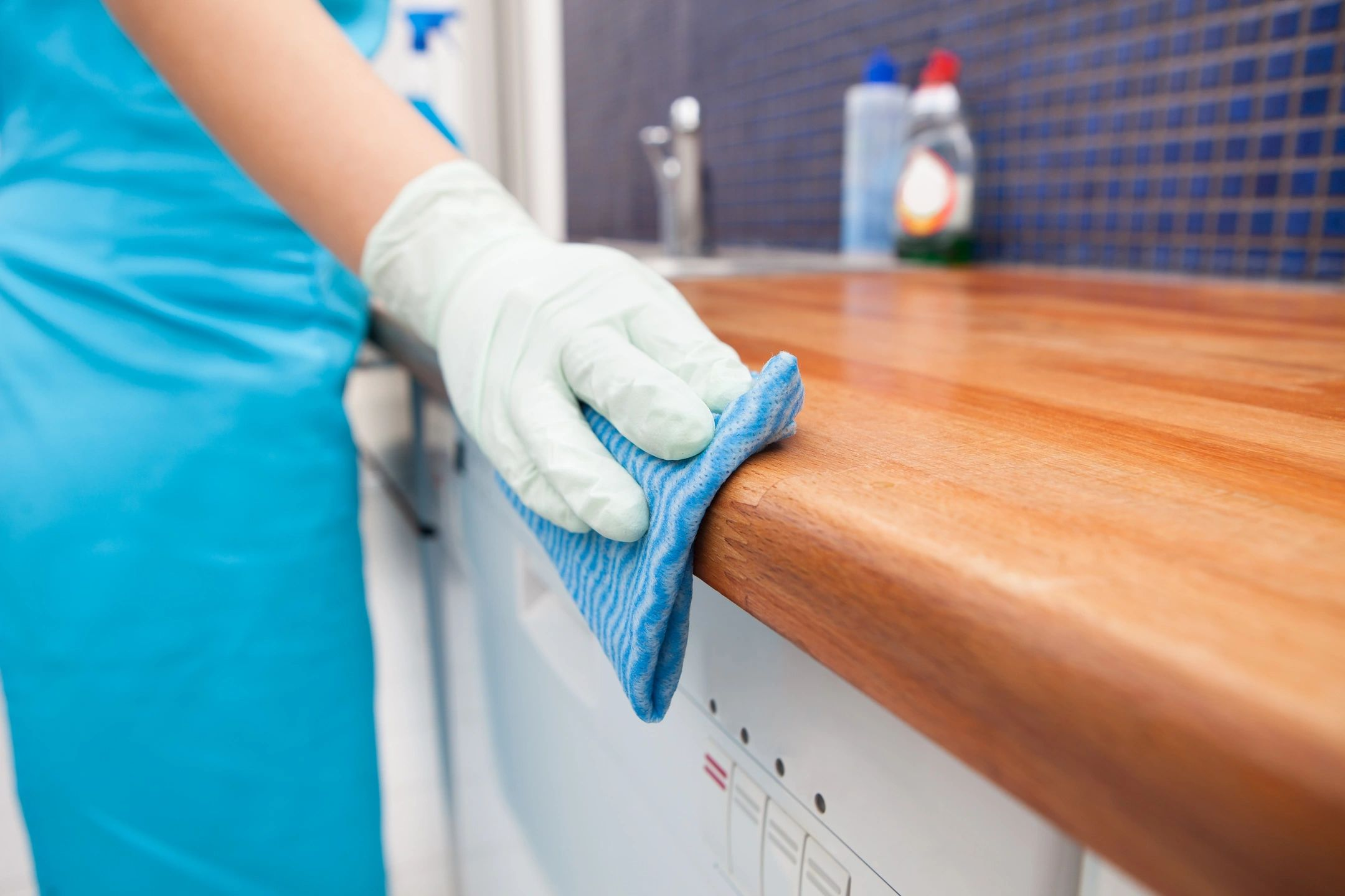hand cleaning counter