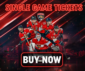 Buy Now! Single Game Florida Panthers Tickets