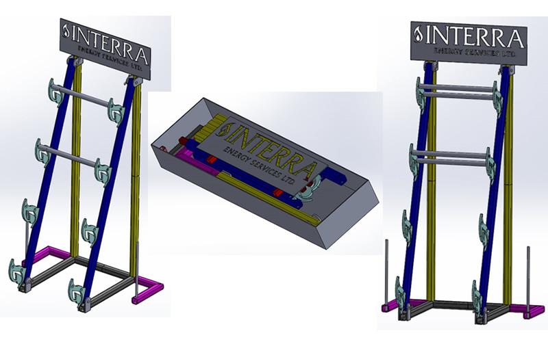 Display Rack - Display Unit - Heavy Duty - Quantum Design