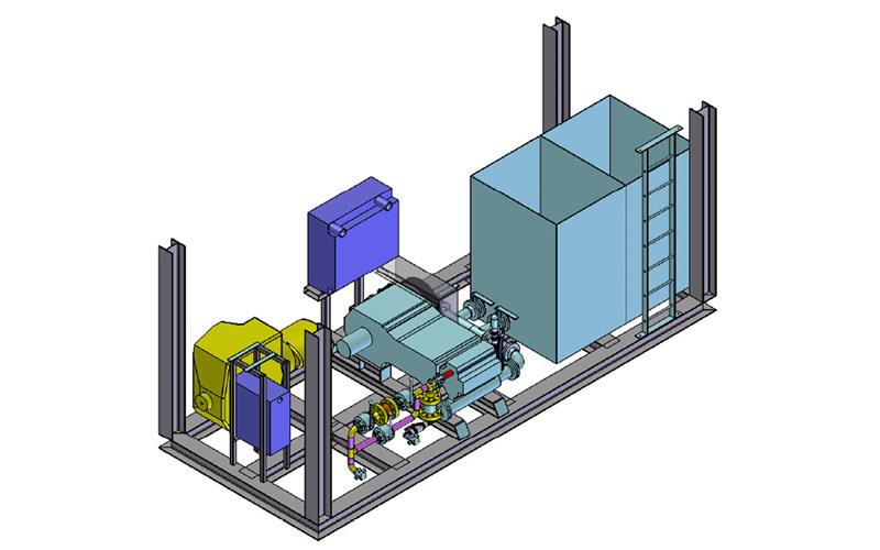 Skid Design - Specialized Equipment - Custom Design - Quantum