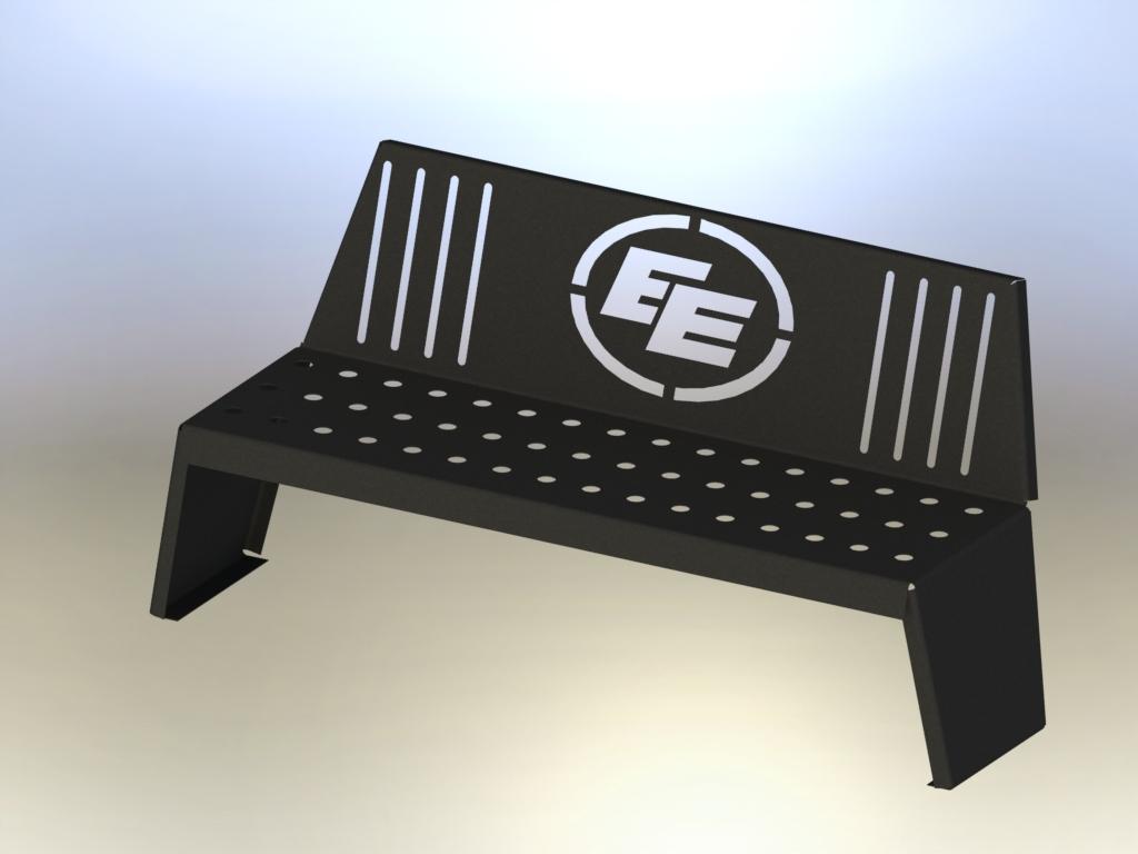 Custom Park Bench