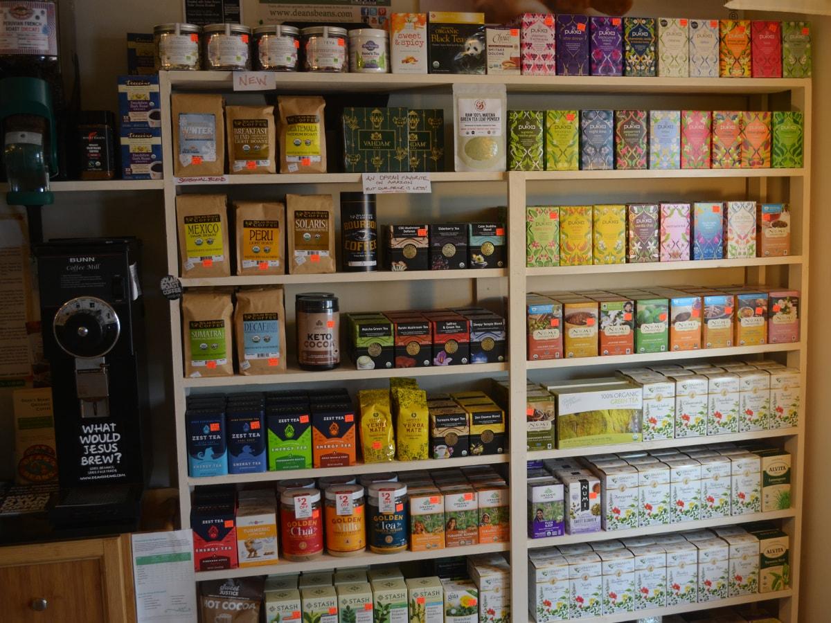 Coffee Tea Entire Wall